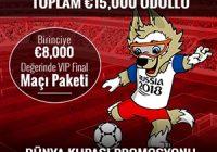 Trbet Dünya Kupası Bonusu