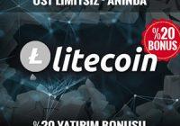 Trbet'te Litecoin ile Yatırımlarınızı Yapabilirsiniz