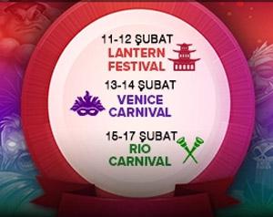 Trbet sitesi kullanıcılarına rio karnavalı hediye ediyor.