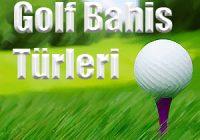 Popüler Golf Bahis Türleri
