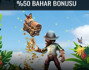 Trbet sitesi bahar bonusu olarak 1500 TL veriyor.